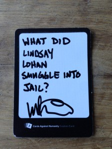 Cards Against Lindsay Lohan