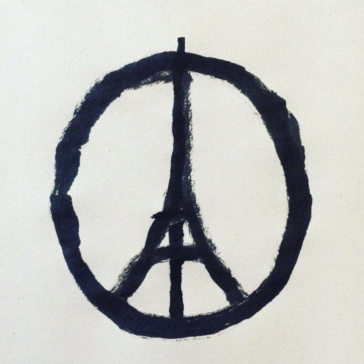 13 November 2015 - Peace for Paris - Jean Jullien