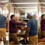 Image Pastor é pego em flagrante com mulher casada da igreja e acaba apanhando do marido dela; vídeo