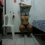 Image Morena dançando funk pelada e se masturbando