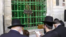 Tomba di Abramo dalla Sinagoga