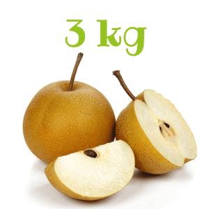 Pere Nashi da 3 kg