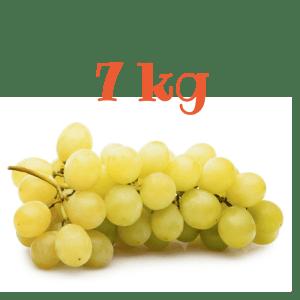 Uva Bianca da tavola da 7 kg