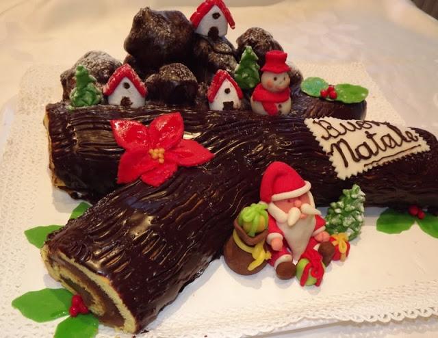 Yule Log Il Ceppo Di Natale E Ricetta Racconti Dal Passato