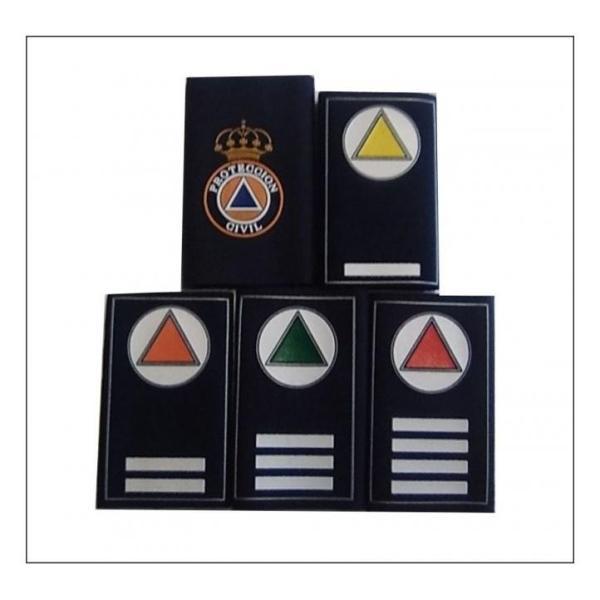 Par de Manguitos de Uniforme para Protección Civil