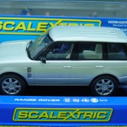 Scalextric C2819 Silver Land Rover