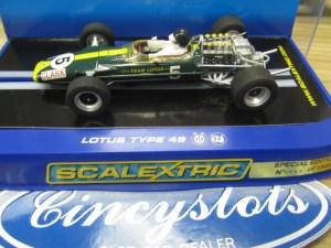 Scalextric C3222 Team Lotus 49 1967 Jim Clark #5 649 of 1500