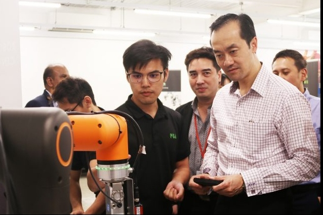 Opening of Advanced New Technology Incubator (ANTI)