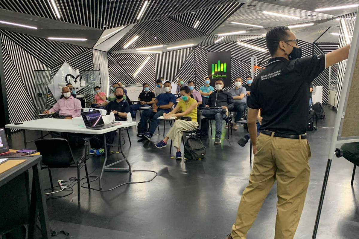 RACE Robotics X SGUnited Mid-Career Pathways Programme