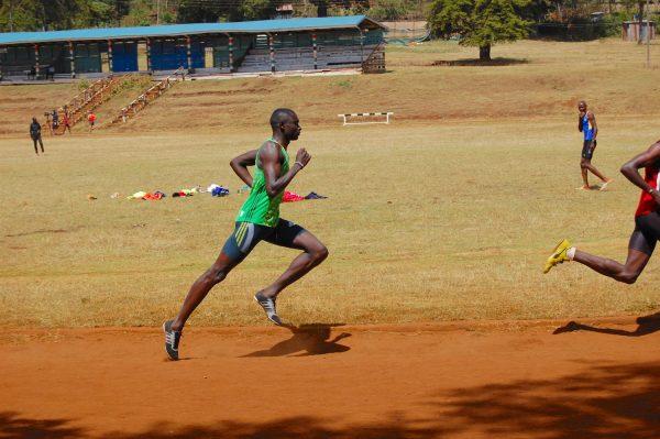David Rudisha Running