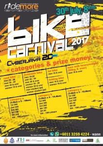 The Cyberjaya Bike Carnival 2017 - Race Connections