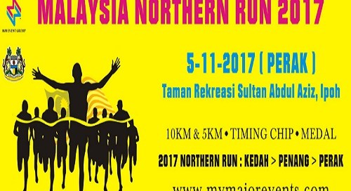 1st Malaysia Northern Run 2017 - Perak - Race Connections