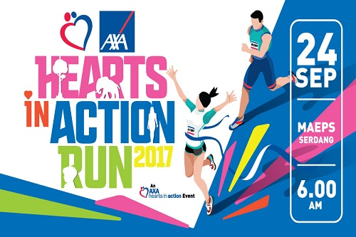 AXA Hearts In Action Run 2017 -Race Connections