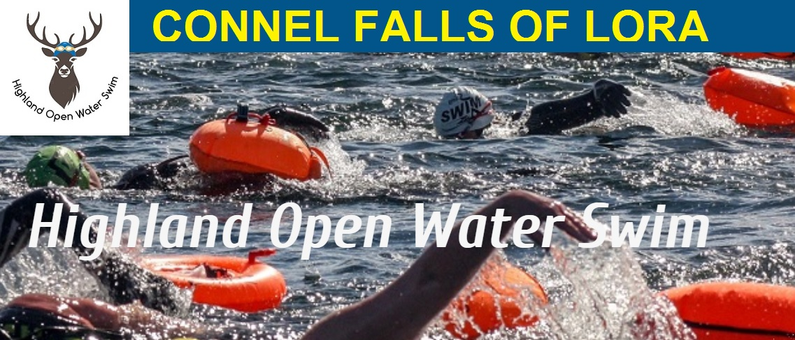 Highland Open Water Swim - Connel Falls of Lora 2018 - Race Connections