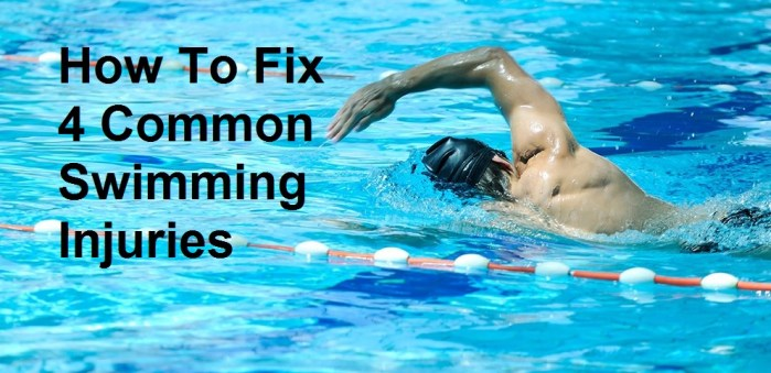 How To Fix 4 Common Swimming Injuries - Race Connections