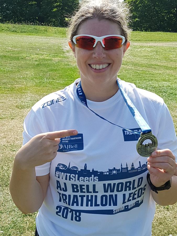 Winner of the AJ Bell World Triathlon Leeds 2018 - Race Connections
