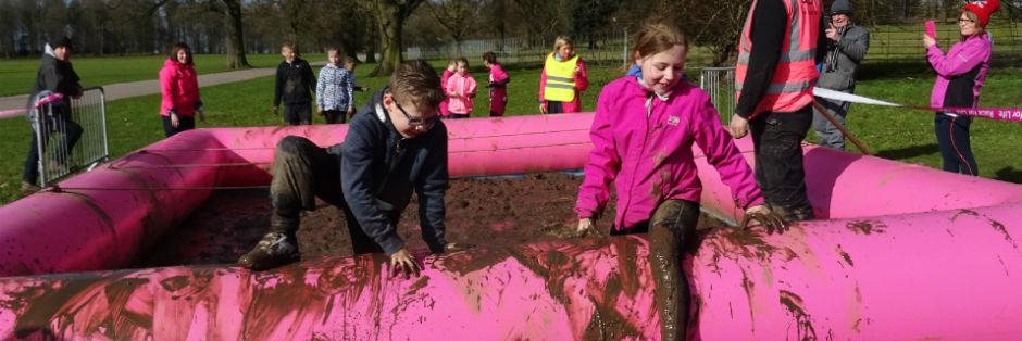 Race for Life Pretty Muddy Kids - Race Connections