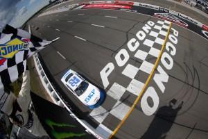 Keselowski swipes Pocono XFINITY victory