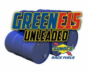 Sunoco Green E15 Unleaded Racing Fuel