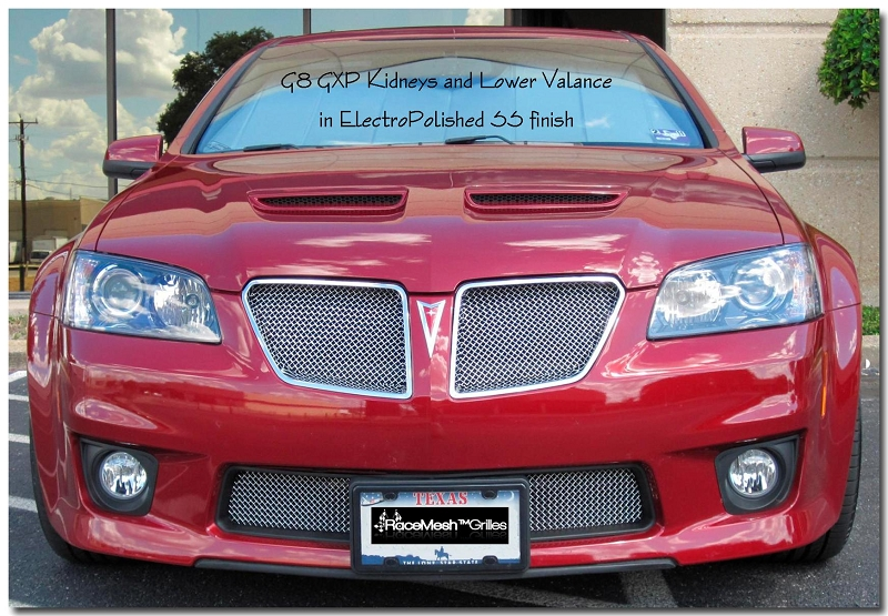 RaceMesh G8 GXP Kidneys and Lower Valance in EPSS on Red 740i heated seat wiring diagram detailed schematics diagram
