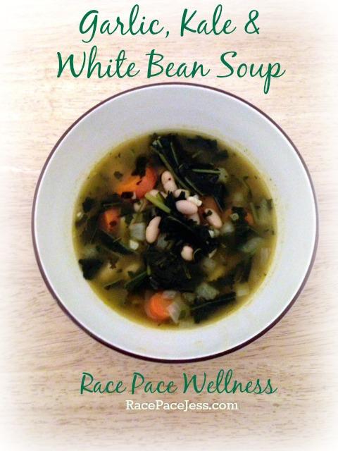 Garlic Kale White BeanSoup