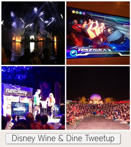 Disney Wine and Dine tweetup