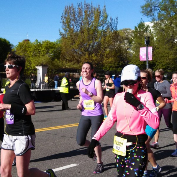 Race Pace Training Diaries: Nike Women's DC Half Marathon Recap