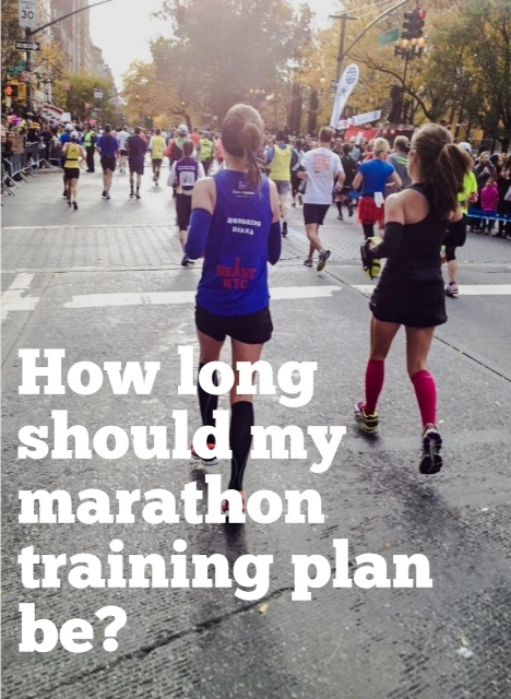 How Long Should My Marathon Training Plan Be?