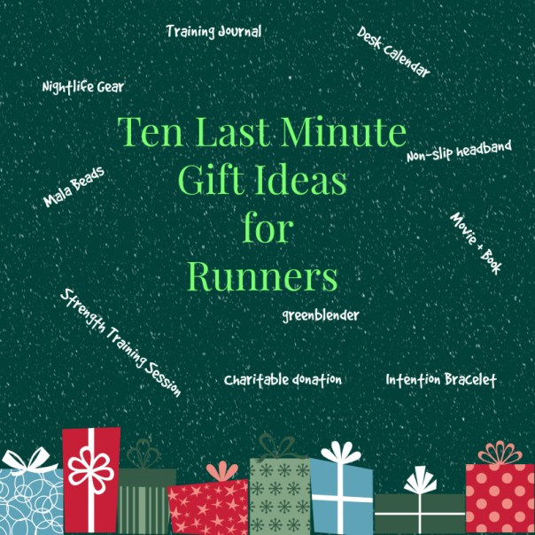 10 days till christmas 10 last minute gifts for runners