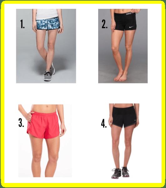 run shorts for women