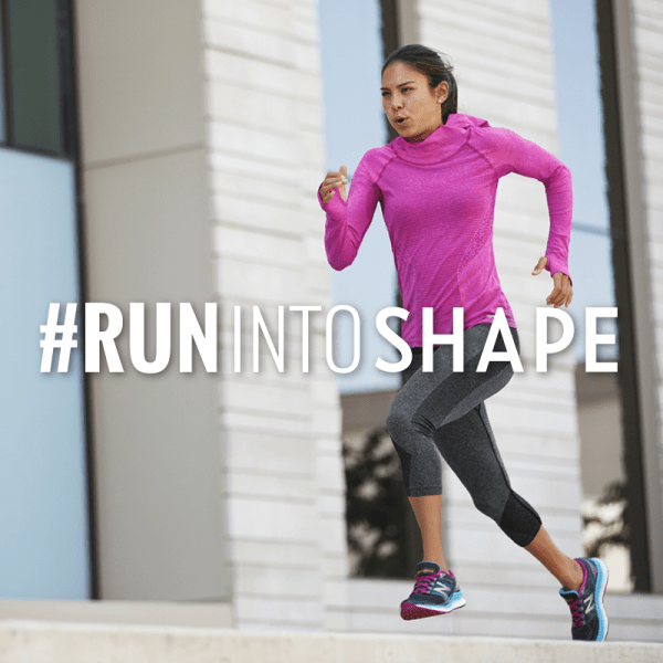 #RunIntoShape Challenge with Shape Magazine