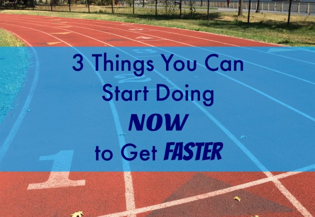 Do this to get faster