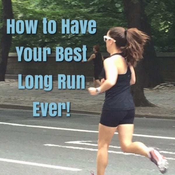 Long Training run tips
