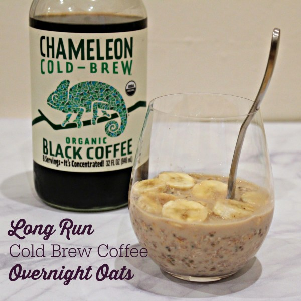 Long Run Cold Brew Coffee Overnight Oats