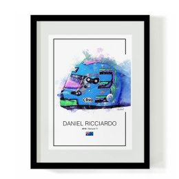 Daniel Ricciardo F1 Art
