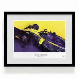 Daniel Ricciardo 2019 Renault F1 Art