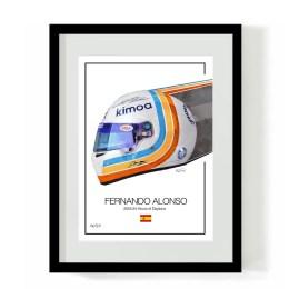 Fernando Alonso Daytona Art
