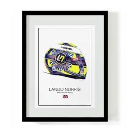 Lando Norris F1 Art