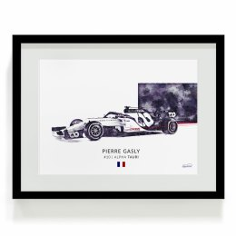 Alpha Tauri Pierre Gasly F1 Art