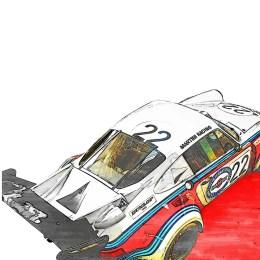 Porsche 911 RSR Art