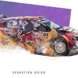 Sebastian Ogier Art