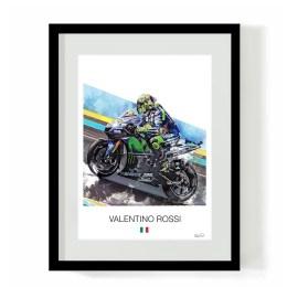 Valentino Rossi MotoGP Art