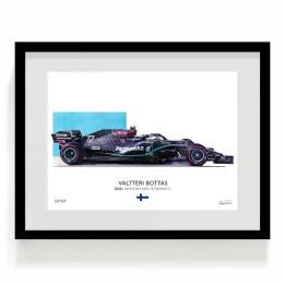 Valtteri Bottas 2020 F1 Art