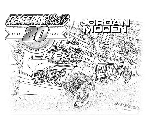 Fan Zone: Coloring Pages – Race Pro Weekly