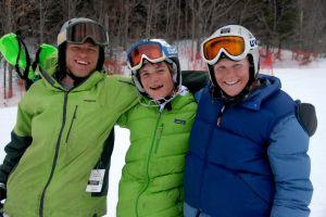 Apres race Skier Cross crew