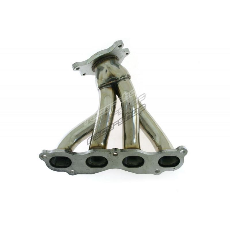 stainless steel exhaust manifold honda civic ep3 2001 2005 typer k20 short