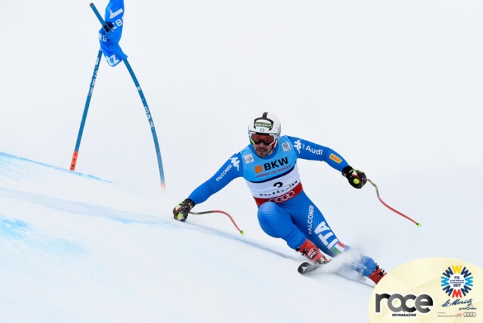 ST. MORITZ, SWITZERLAND Ð FEBRUARY 08: Peter Fill of Italy competes during the FIS Alpine Ski World Championships Men's Super-G on February 08, 2017 in St. Moritz, Switzerland (Photo by Alain Grosclaude/Agence Zoom)