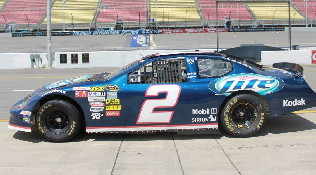 70% OFF Race Car Driving experiences at Michigan Int'l Speedway September 3rd and 4th