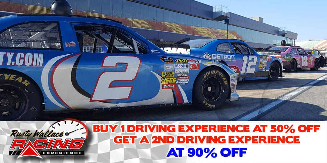 Buy 1 Driving Experience at 50% OFF Get Second One at 90% OFF