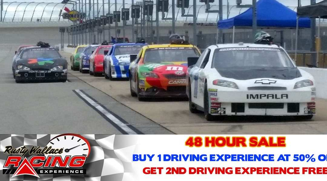 48 Hour Sale – Buy One 50% OFF Driving Experience Get a 2nd One Free